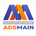 AdsMain mobile app offer logo