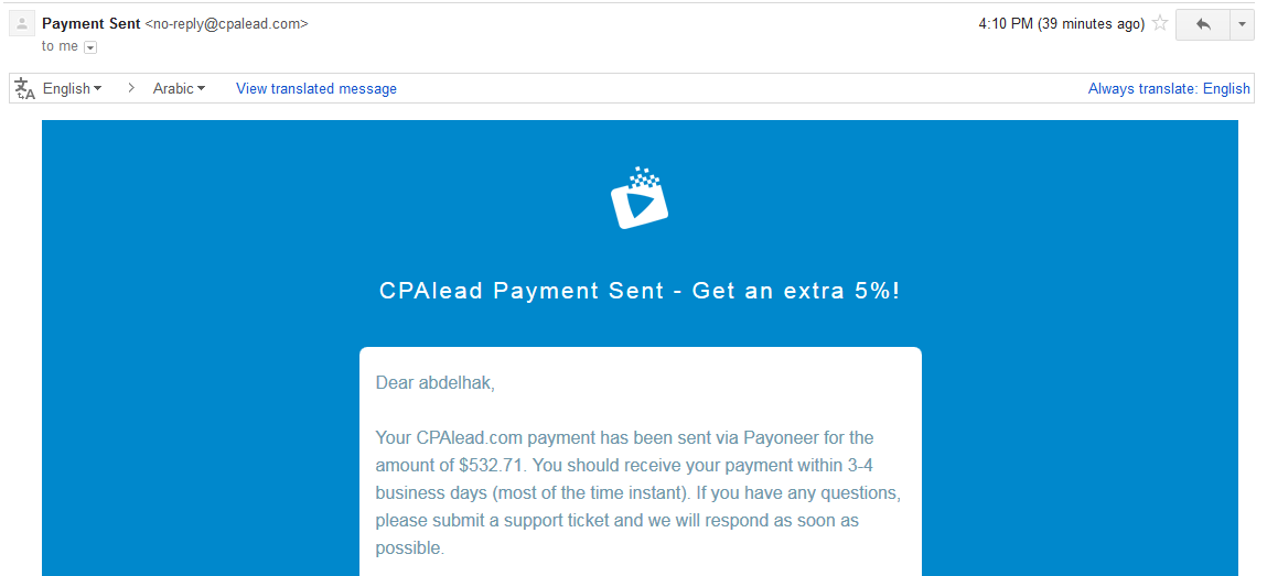 CPALead Payment Proof Review