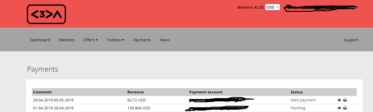 C3PA Payment Proof Review